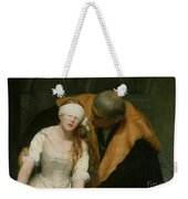 The Execution Of Lady Jane Grey Weekender Tote Bag