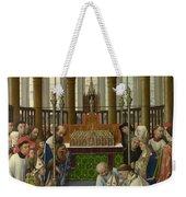 The Exhumation Of Saint Hubert Weekender Tote Bag