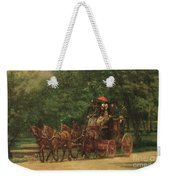 The Fairman Rogers Coach And Four Weekender Tote Bag by Thomas Cowperthwait Eakins
