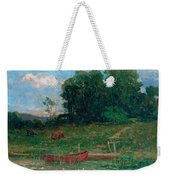 The Farm Landing Weekender Tote Bag