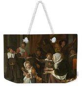 The Feast Of St. Nicholas Weekender Tote Bag