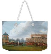The Finish Of The St. Leger Stakes Weekender Tote Bag