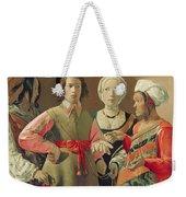 The Fortune Teller Weekender Tote Bag by Georges de la Tour
