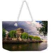 The Four Courts In Reconstruction 2 Weekender Tote Bag
