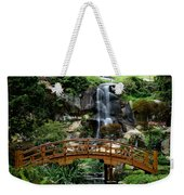 The Garden Bridge Weekender Tote Bag