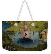 The Garden Of Earthly Delights Left Wing - Paradise Hieronymus Bosch Weekender Tote Bag