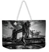The Girl And The Dolphin - London Weekender Tote Bag