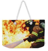 The Good Fight Weekender Tote Bag