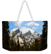 The Grand Tetons Weekender Tote Bag
