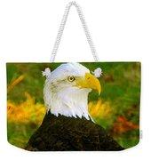 The Great Bald Eagle Weekender Tote Bag