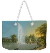 The Great Fountain Weekender Tote Bag