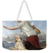 The Highland Lassie Weekender Tote Bag