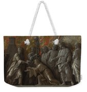The Introduction Of The Cult Of Cybele At Rome Weekender Tote Bag