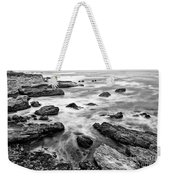 The Jagged Rocks And Cliffs Of Montana De Oro State Park Weekender Tote Bag