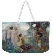 The Judgement Of Paris Weekender Tote Bag