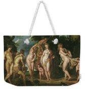 The Judgment Of Paris Weekender Tote Bag