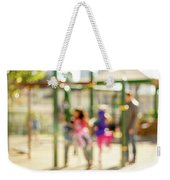 The Kids At The Playground During Day In The City Of Los Angeles Weekender Tote Bag