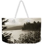 The Lake Of Two Rivers At Dawn Weekender Tote Bag