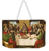 The Last Supper Weekender Tote Bag by Master of Portillo