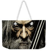 The Leader Of Mankind  - Gandalf / Ian Mckellen Weekender Tote Bag