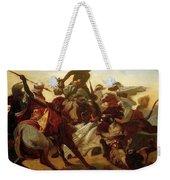 The Lion Hunt Horace Vernet Weekender Tote Bag