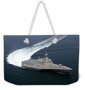 The Littoral Combat Ship Independence Weekender Tote Bag