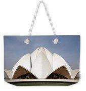 The Lotus Temple In New Delhi Weekender Tote Bag