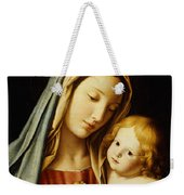 The Madonna And Child Weekender Tote Bag by Il Sassoferrato