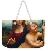 The Madonna Of The Yarnwinder Weekender Tote Bag