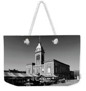 The Market Hall, Market Square, Chesterfield Town, Derbyshire Weekender Tote Bag