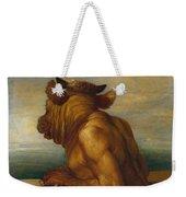 The Minotaur Weekender Tote Bag