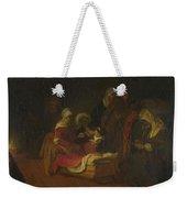 The Naming Of Saint John The Baptist Weekender Tote Bag