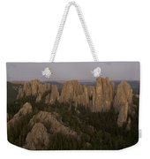 The Needles Protrude From Forests Weekender Tote Bag
