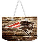 The New England Patriots 3a Weekender Tote Bag