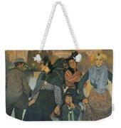 The Origins Of The Modern In Basque Weekender Tote Bag