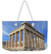 The Parthenon Acropolis Athens Greece Weekender Tote Bag