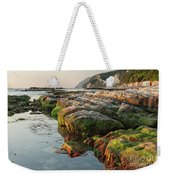 The Passetto Rocks At Sunrise, Ancona, Italy Weekender Tote Bag