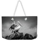 The Pelicans Weekender Tote Bag