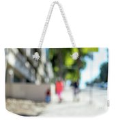 The People Walking On The Street During Day In The City Of Los A Weekender Tote Bag