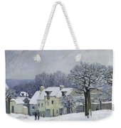 The Place Du Chenil At Marly Le Roi Weekender Tote Bag by Alfred Sisley