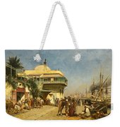 The Port Of Algiers Weekender Tote Bag