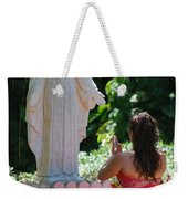 The Praying Princess Weekender Tote Bag