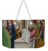 The Presentation In The Temple Weekender Tote Bag