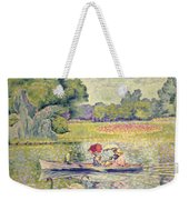 The Promenade In The Bois De Boulogne Weekender Tote Bag