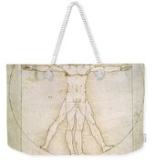 The Proportions Of The Human Figure Weekender Tote Bag
