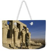 The Ramesseum Weekender Tote Bag