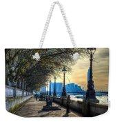 The River Thames Path Weekender Tote Bag