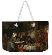 The Satyr And The Peasant Family Weekender Tote Bag