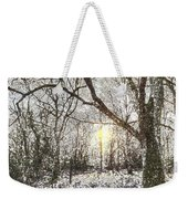 The Snow Forest Art Weekender Tote Bag
