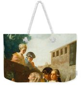 The Soldier And The Lady Weekender Tote Bag